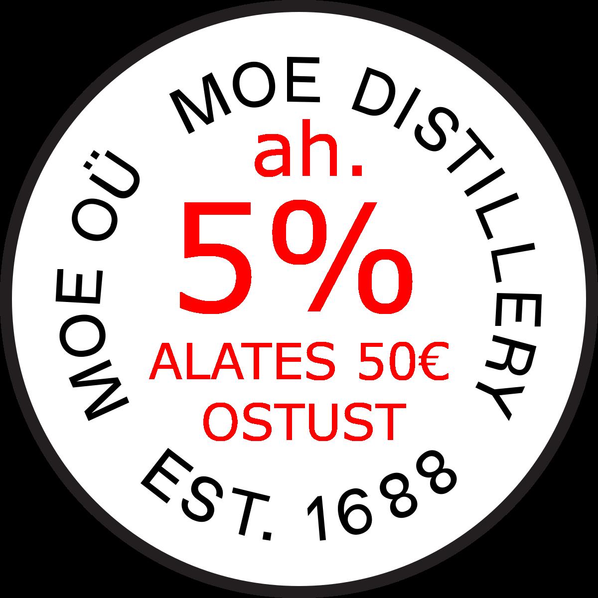 Allahindlus 5%